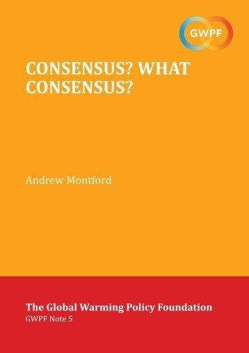 Montford-Consensus