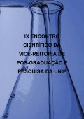 Anais do IX Encontro Científico da Vice-Reitoria de Pós ... - Unip - Page 4