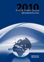 Jahresbericht 2010 - Drees & Sommer Gruppe