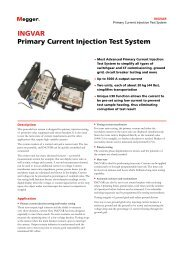INGVAR Primary Current Injection Test System - Rental.no