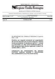 Direttiva sui requisiti strutturali ed organizzativi dei servizi educativi ...