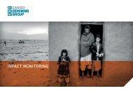 Impact Monitoring leaflet 2011 - Danish Demining Group