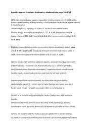 Termíny a pravidla konání zkoušek z anatomie, informace o ...