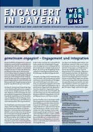 LBE-Informationsbrief 2/2010 (pdf, 929 KB) - Gemeinsam engagiert