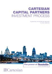 cartesian capital partners - Danske Invest