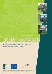DORF KOMM! - Nachhaltige Entwicklung in Hohenlohe-Tauber