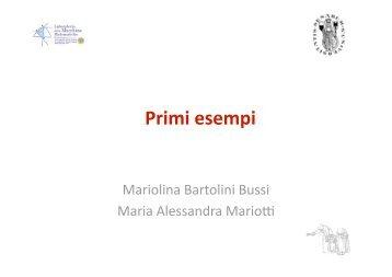 Bartolini Mariotti 2 - Seminario Nazionale di Ricerca in Didattica ...