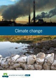 Climate change - Wageningen UR