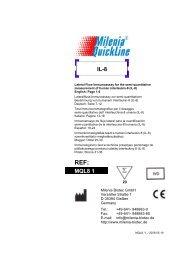 MQL8 1 IL-8 - Milenia Biotec GmbH