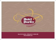 PARKHOTE L - Hotel Dorfer