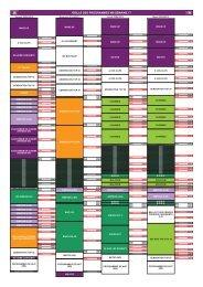 GRILLE DES PROGRAMMES W9 SEMAINE 17 - M6 Publicité