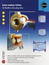 Low-noise trims - Samson Regeltechniek