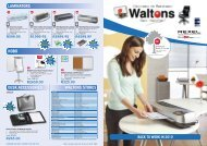 WALTONS STORES LAMINATORS NOBO DESK ACCESSORIES