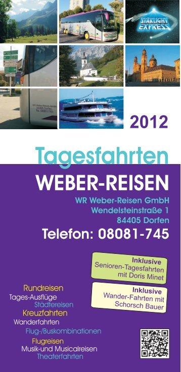 Tagesfahrten-Prospekt 2012 12 Seiten.cdr - Weber Reisen
