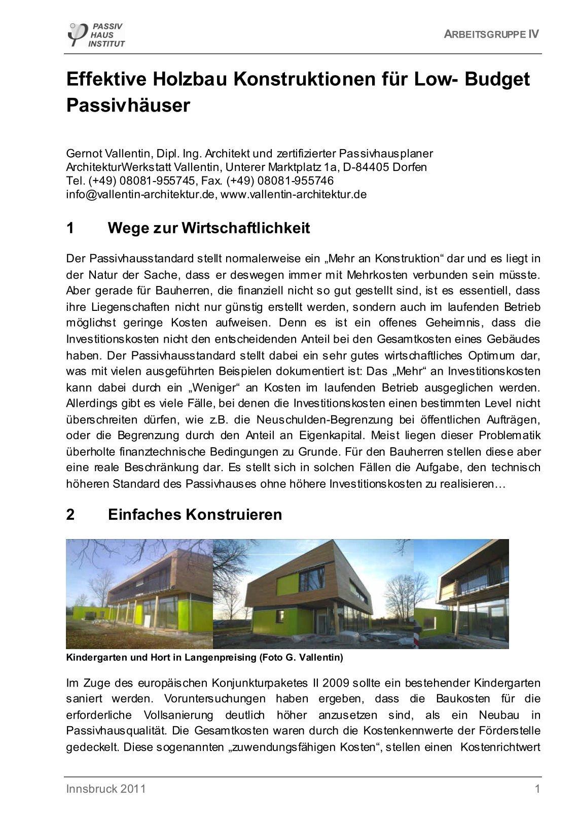 1 Free Magazines From Vallentin Architektur De