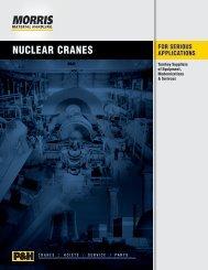 Nuclear Cranes Brochure - Morris Material Handling
