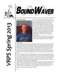 Soundwaves APR 2013 - Vintage Radio and Phonograph Society