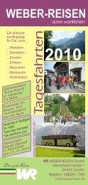 Tagesfahrten-Prospekt 2010.cdr - Weber Reisen