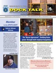 Dock Talk V1, N1 - 2010 - Teamsters Local 117