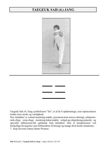 Taegeuk Sah Jang - Ballerup Taekwondo Klub