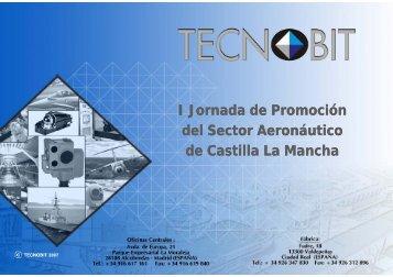 I Jornada de Promoción del Sector Aeronáutico de Castilla La Mancha
