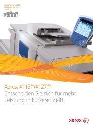 Broschüre - Xerox 4112™/4127™ Kopierer/Drucker (PDF, 1,4 MB)