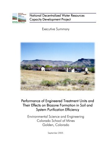 Executive Summary - Decentralized Water Resources Collaborative