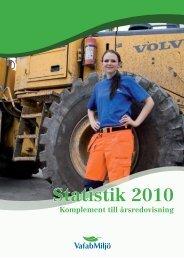 Statistik 2010 - VafabMiljö
