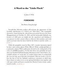 A Word to the Little Flock.pdf - Centro de Pesquisas Ellen G. White