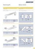 Metallgriffsystem in speziellem Farbdesign Metallic Handle System ... - Seite 3