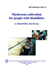 Mushroom cultivation for people with disabilities : A training manual
