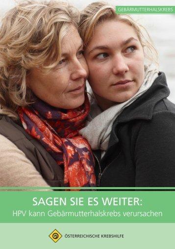 SAGEN SIE ES WEITER: - Krebshilfe Oberösterreich