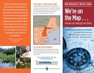 We're on the Map . . . - New Hampshire Division of Economic ...
