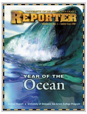 1998 Reporter - Delaware Sea Grant