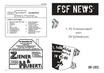 Schneiderei, Wäscherei, Teppiche dazu ... - FC Frimmersdorf