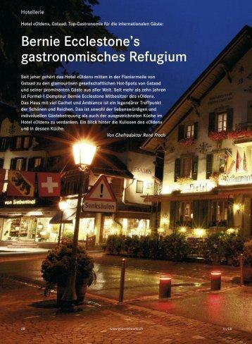 Bernie Ecclestone's gastronomisches Refugium - Hotel Olden