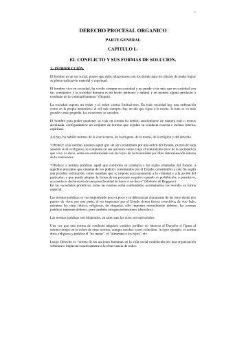 DERECHO PROCESAL ORGANICO.pdf - U-Cursos