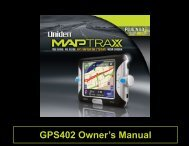 GPS402 Owner's Manual - at Uniden