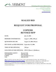 sealed bid request for proposal copiers revised rfp - the Department ...