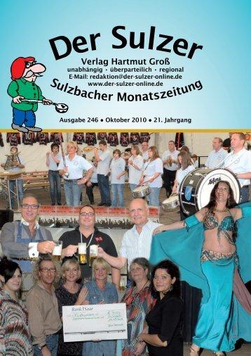 Sulzbach - Der Sulzer