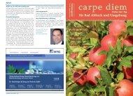 Notdienst Apotheken - carpe diem magazine