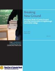 Executive Summary (PDF) - National Center for Postsecondary ...