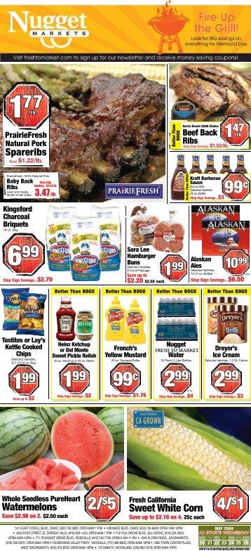 2/$5 4/$1 - Nugget Market