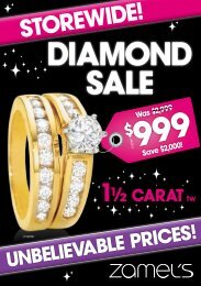 DiamonD SaLE - Zamel's