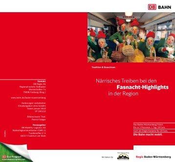 Närrisches Treiben bei den Fasnacht-Highlights in der Region - wtv