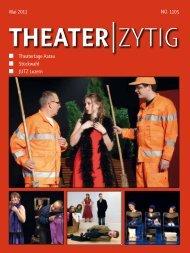 Infos unter www.ticketvorverkauf.ch - Theater-Zytig