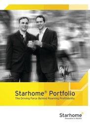 Starhome® Portfolio - Africa Com