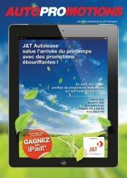 AutoPROmotions Avr – Juin 2012 - J&T Autolease