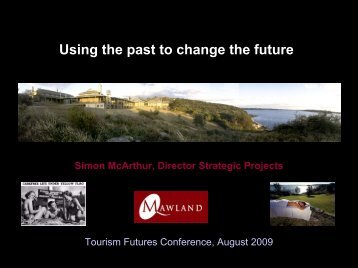 The Night Experience - Tourism Futures