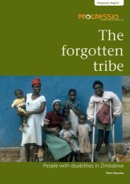 The forgotten tribe - The Africa Campaign on Disability and HIV & AIDS